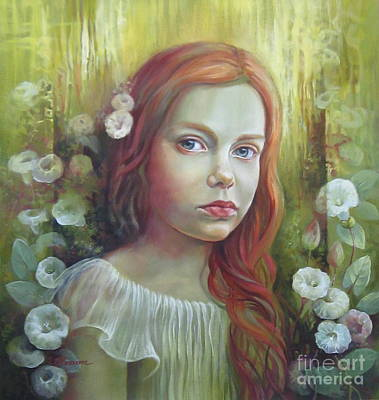Morning Glory Poster by Elena Oleniuc