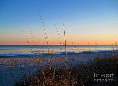 Morning Has Broken At Myrtle Beach South Carolina Poster by Susanne Van Hulst