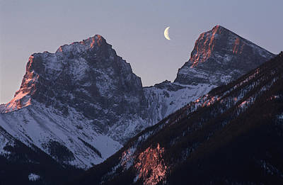 Morning Light Canmore Poster