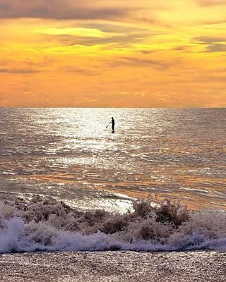 Sunrise Solitude Poster