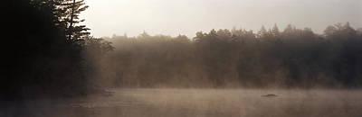 Morning Mist Adirondack State Park Old Poster