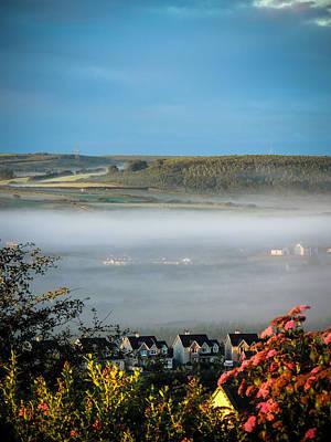 Morning Mist Over Lissycasey Poster