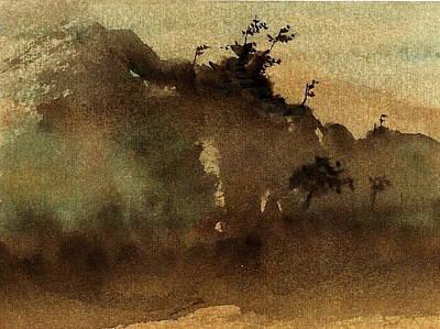 Morning Mist Poster by Richard Hinger