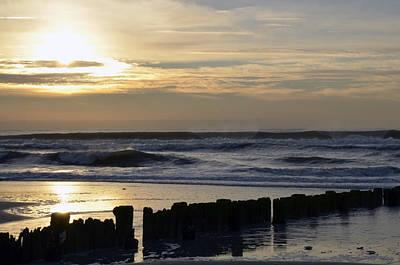 Morning Ocean Rockaway Beach 3 Poster