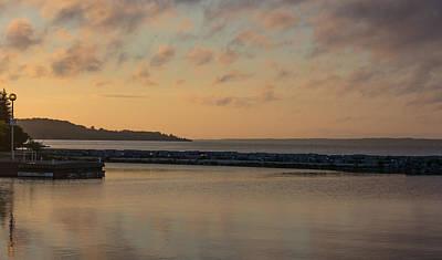 Morning Over Lake Simcoe Poster