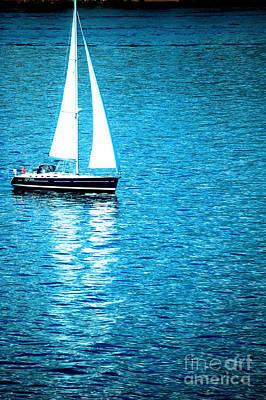 Morning Sail Poster