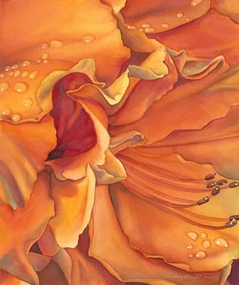 Morning Splendor Poster by Sandy  Haight