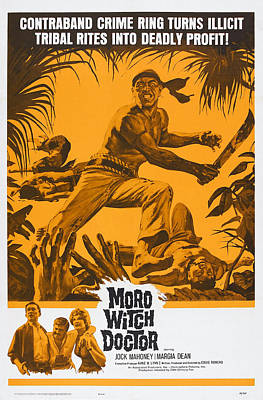 Moro Witch Doctor, Us Poster Art, 1964 Poster