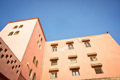 Moroccan Buildings Poster
