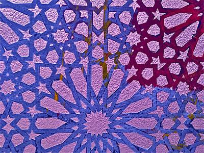 Moroccan Design  Poster by Karim Baziou