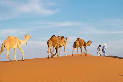 Morocco, Erg Chegaga (or Chigaga Poster by Emily Wilson