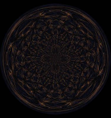 Morphed Art Globe 31 Poster