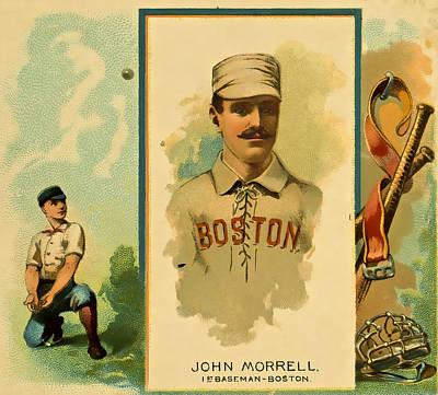 Morrell Baseball Poster by David Letts
