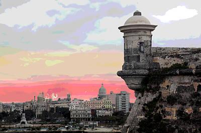 Morro Castle Havana Poster