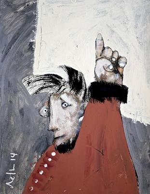 Mortalis No 24 Poster by Mark M  Mellon