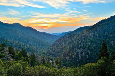 Mortons Overlook Smnp Poster by Frozen in Time Fine Art Photography