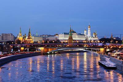 Moscow Kremlin Poster by Alex Sukonkin