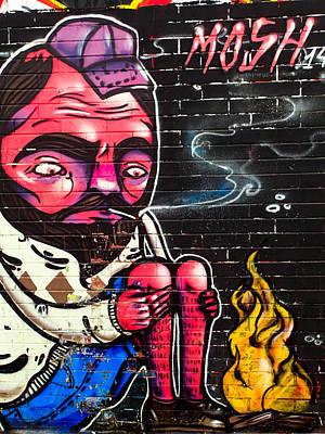 Mosh Wall Art Poster