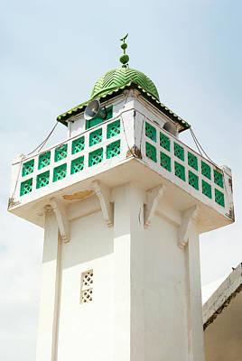 Mosque Minaret, Tabarka, Tunisia, North Poster by Nico Tondini