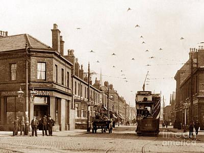 Moss Lane West Whalley Range Blackburn England Poster by The Keasbury-Gordon Photograph Archive