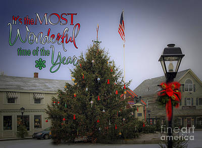 Most Wonderful Christmas Poster by Brenda Giasson