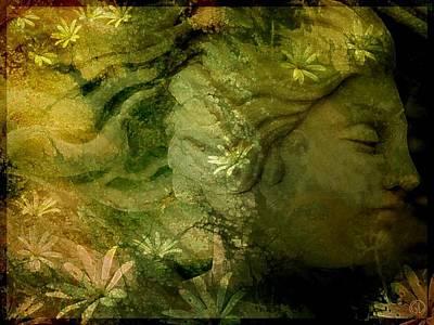 Mother Earth Is Just Awakening Poster by Gun Legler
