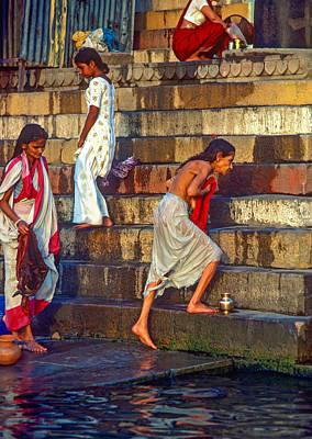 Mother Ganges Poster by Steve Harrington