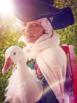 Mother Goose Poster by Danilo Piccioni