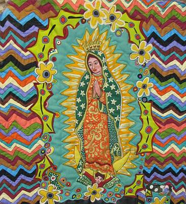 Mother Mary  Poster by Donna Wilson