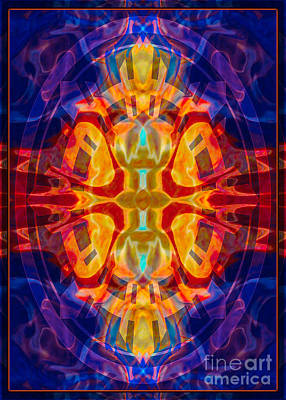 Mother Of Eternity Abstract Living Artwork Poster