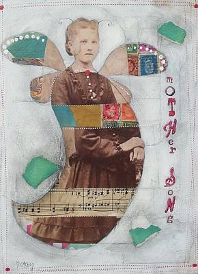 Poster featuring the painting Mother Song by Casey Rasmussen White
