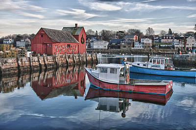 Motif 1 Sky Reflections Poster by Jeff Folger
