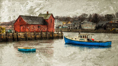 Motif Number1 Rockport Poster by Michael Petrizzo