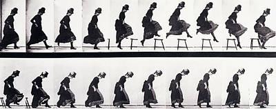 Motion Study Poster by Eadweard Muybridge