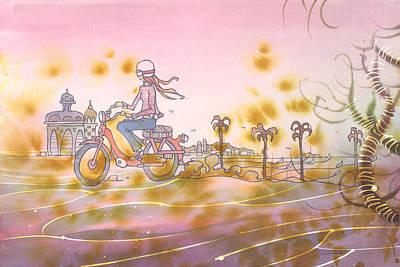 Moto Chic Poster
