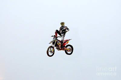 Motocross Captain Morgan Poster by DejaVu Designs
