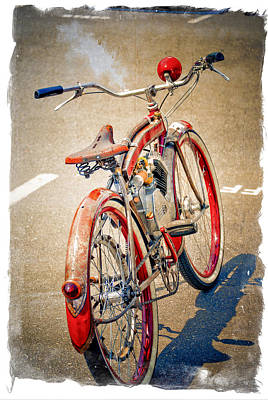 Motor Bike Poster by Craig Perry-Ollila