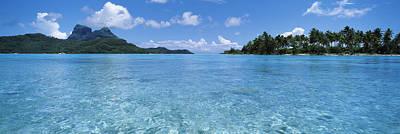 Motu And Lagoon, Bora Bora, Society Poster