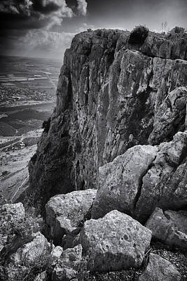 Mount Arbel Poster by Stephen Stookey