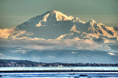 Mount Baker Washington Poster by Pierre Leclerc Photography