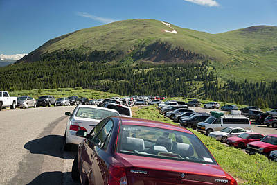 Mount Bierstadt Hiking Trail Car Park Poster