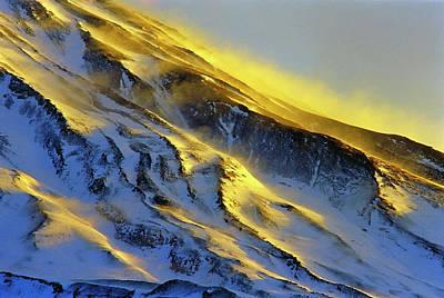 Mount Damavand At Dawn Poster