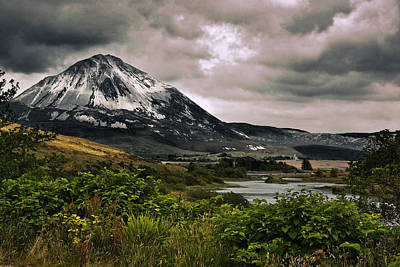 Mount Errigal Poster by Jane McIlroy