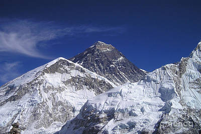 Mount Everest Poster by Jan Wolf