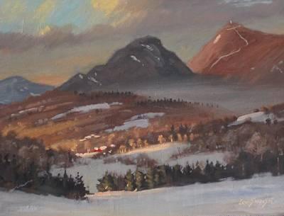Mount Greylock From Clarksburg Poster by Len Stomski