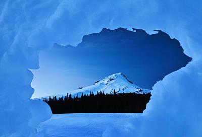 Mount Hood Blues Poster