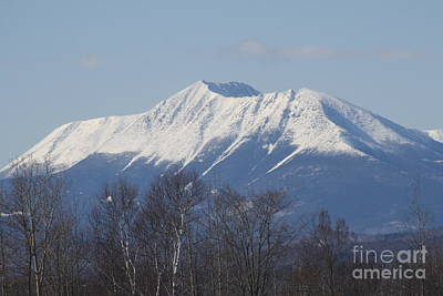 Mount Katahdin Winter 1 Poster by Joseph Marquis
