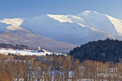 Mount Mansfield Winter Poster