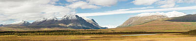 Mount Moffit And Mcginnis Peak Landmark Poster by Panoramic Images