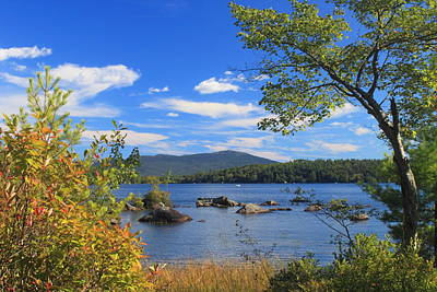 Mount Monadnock And Silver Lake Poster by John Burk